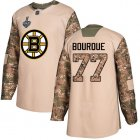Cheap Adidas Bruins #77 Ray Bourque Camo Authentic 2017 Veterans Day Stanley Cup Final Bound Youth Stitched NHL Jersey