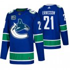 Cheap Men's Vancouver Canucks #21 Loui Eriksson Adidas Blue 2019-20 Home Authentic NHL Jersey