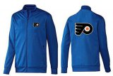 Cheap NHL Philadelphia Flyers Zip Jackets Blue-2