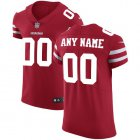 Cheap Nike San Francisco 49ers Customized Red Stitched Vapor Untouchable Elite Men's NFL Jersey