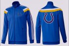 Cheap NFL Indianapolis Colts Team Logo Jacket Blue_5