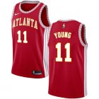 Cheap Hawks #11 Trae Young Red Basketball Swingman Statement Edition Jersey