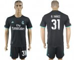 Cheap Real Madrid #31 R.Yanez Away Soccer Club Jersey