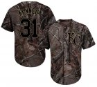 Cheap Royals #31 Ian Kennedy Camo Realtree Collection Cool Base Stitched MLB Jersey