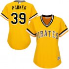 Cheap Pirates #39 Dave Parker Gold Alternate Women's Stitched MLB Jersey