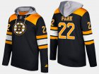 Cheap Bruins #22 Brad Park Black Name And Number Hoodie