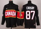 Cheap Team Canada 2014 Olympic #87 Sidney Crosby Black Stitched Youth NHL Jersey