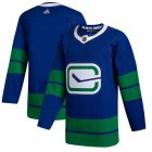 Cheap Adidas Canucks Blank Blue Alternate Authentic Stitched NHL Jersey