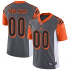 Cheap Nike Cincinnati Bengals Customized Silver Men's Stitched NFL Limited Inverted Legend Jersey