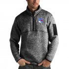 Cheap New York Rangers Antigua Fortune Quarter-Zip Pullover Jacket Charcoal