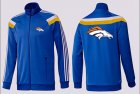 Cheap NFL Denver Broncos Team Logo Jacket Blue_3