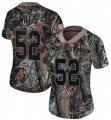 Cheap Nike 49ers #52 Patrick Willis Camo Women's Stitched NFL Limited Rush Realtree Jersey