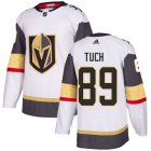 Cheap Adidas Golden Knights #89 Alex Tuch White Road Authentic Stitched Youth NHL Jersey