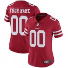 Cheap Nike San Francisco 49ers Customized Red Stitched Vapor Untouchable Limited Women's NFL Jersey