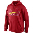Cheap St.Louis Cardinals Nike Men's KO Wordmark Perfomance Red MLB Hoodie