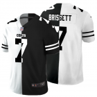 Cheap Indianapolis Colts #7 Jacoby Brissett Men's Black V White Peace Split Nike Vapor Untouchable Limited NFL Jersey