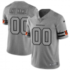 Cheap Cincinnati Bengals Custom Men's Nike Gray Gridiron II Vapor Untouchable Limited NFL Jersey