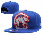 Cheap MLB Chicago Cubs Snapback Ajustable Cap Hat YD 1