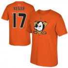 Cheap Anaheim Ducks #17 Ryan Kesler Reebok Alternate Name & Number T-Shirt Orange
