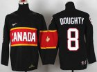 Cheap Team Canada 2014 Olympic #8 Drew Doughty Black Stitched Youth NHL Jersey