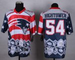 Cheap Nike Patriots #54 Dont'a Hightower Navy Blue Men's Stitched NFL Elite Noble Fashion Jersey