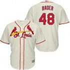 Cheap Cardinals #48 Harrison Bader Cream Cool Base Stitched Youth MLB Jersey