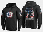 Cheap Bruins #73 Charlie Mcavoy NHL Banner Wave Usa Flag Black Hoodie