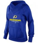 Cheap Women's Washington Redskins Big & Tall Critical Victory Pullover Hoodie Blue