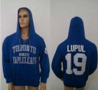 Cheap CCM Toronto Maple Leafs #19 Joffrey Lupul Blue Lace Up Hoodie