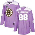 Cheap Adidas Bruins #88 David Pastrnak Purple Authentic Fights Cancer Stanley Cup Final Bound Youth Stitched NHL Jersey