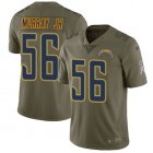 Cheap Nike Chargers #56 Kenneth Murray Jr Olive Youth Stitched NFL Limited 2017 Salute To Service Jersey