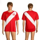Cheap Peru Blank Away Soccer Country Jersey