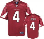 Cheap Cardinals #4 Kevin Kolb Red Stitched NFL Jersey