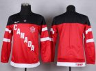 Cheap Team Canada Blank Red 100th Anniversary Stitched Youth NHL Jersey