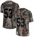 Cheap Nike Browns #53 Joe Schobert Camo Men's Stitched NFL Limited Rush Realtree Jersey