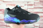Cheap Air Jordan 8 Low Aqua Black/Ture Blue-Grey