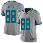 Cheap Nike Jaguars #88 Tyler Eifert Silver Youth Stitched NFL Limited Inverted Legend Jersey
