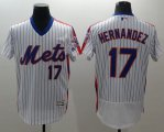 Cheap Mets #17 Keith Hernandez White(Blue Strip) Flexbase Authentic Collection Alternate Stitched MLB Jersey
