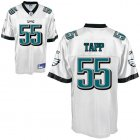 Cheap Eagles #55 Darryl Tapp White Stitched NFL Jersey