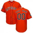 Cheap Houston Astros Majestic 2019 World Series Bound Official Cool Base Custom Jersey Orange