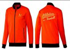 Cheap Baseball Oakland Athletics Zip Jacket Orange