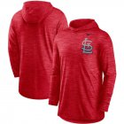 Cheap St. Louis Cardinals Nike Split Logo Performance Long Sleeve Hoodie Top Red