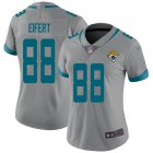 Cheap Nike Jaguars #88 Tyler Eifert Silver Women's Stitched NFL Limited Inverted Legend Jersey