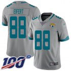 Cheap Nike Jaguars #88 Tyler Eifert Silver Youth Stitched NFL Limited Inverted Legend 100th Season Jersey