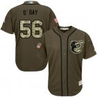 Cheap Orioles #56 Darren O'Day Green Salute to Service Stitched Youth MLB Jersey
