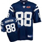 Cheap Colts #88 Marvin Harrison Blue With Super Bowl Patch Stitched NFL Jersey