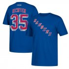 Cheap New York Rangers #35 Mike Richter CCM Retired Player Name & Number T-Shirt Royal
