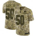 Cheap Nike Chiefs #50 Willie Gay Jr. Camo Youth Stitched NFL Limited 2018 Salute To Service Jersey