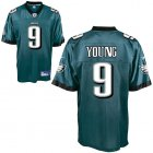 Cheap Eagles #9 Vince Young Green Stitched NFL Jersey