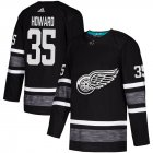 Cheap Adidas Red Wings #35 Jimmy Howard Black Authentic 2019 All-Star Stitched Youth NHL Jersey